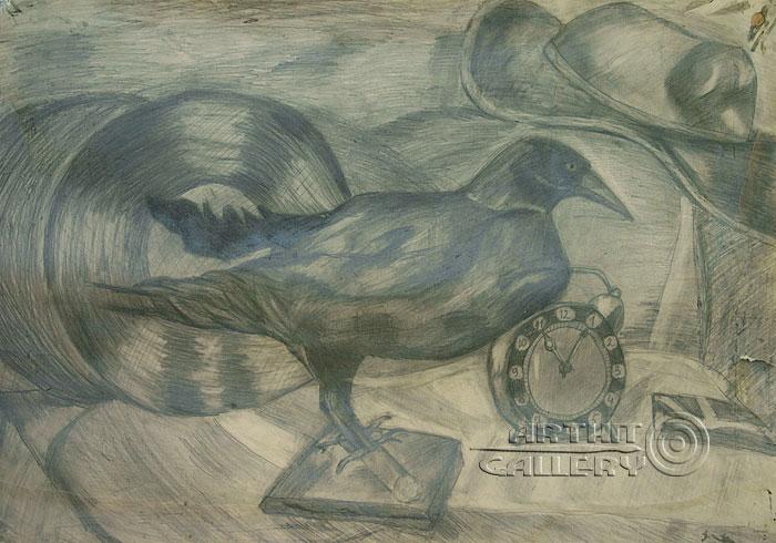 ''Птица''.  Алферов Андрей. Продажа картин, предметов декоративно-прикладного искусства