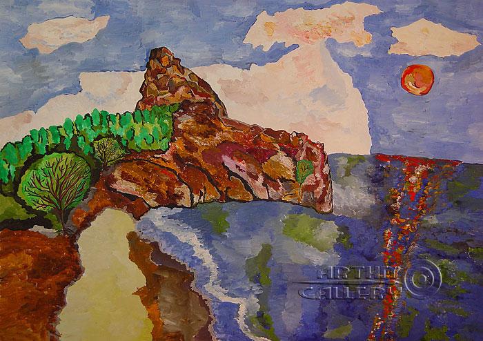 ''Озеро Байкал. Бухта песчаная''.  Алферов Андрей. Продажа картин, предметов декоративно-прикладного искусства