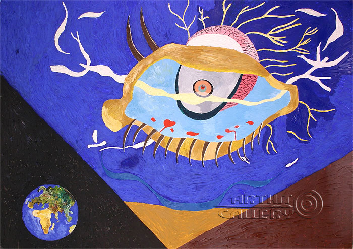 'Eye. Greetings to Dali.'. Alferov Andrei