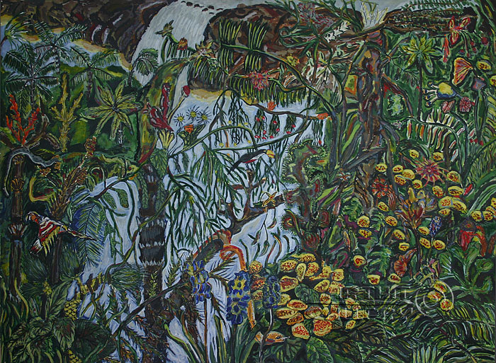 ''Джунгли''.  Алферов Андрей. Продажа картин, предметов декоративно-прикладного искусства