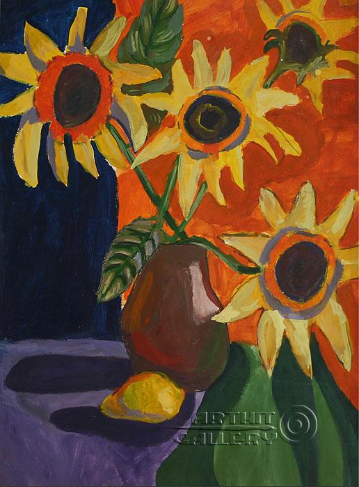 'Sunflowers'. Alferov Andrei
