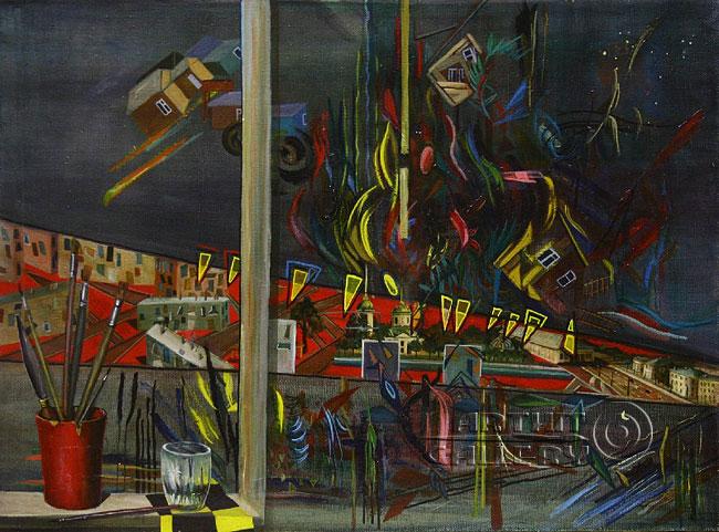 'The exhibition `My dear Moscow`'. Chulkova Elena
