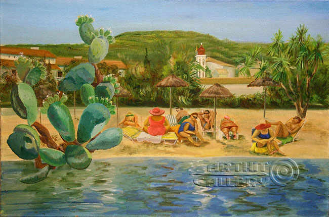 'Beach on Corfu'. Chulkova Elena