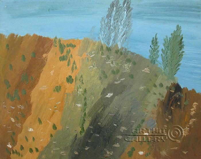 ''Гора Долгая''.  Кортюкова Роза. Продажа картин, предметов декоративно-прикладного искусства