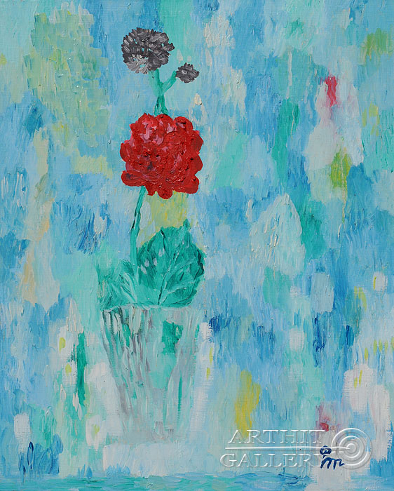 ''Мечта о розе''.  Кортюкова Роза. Продажа картин, предметов декоративно-прикладного искусства