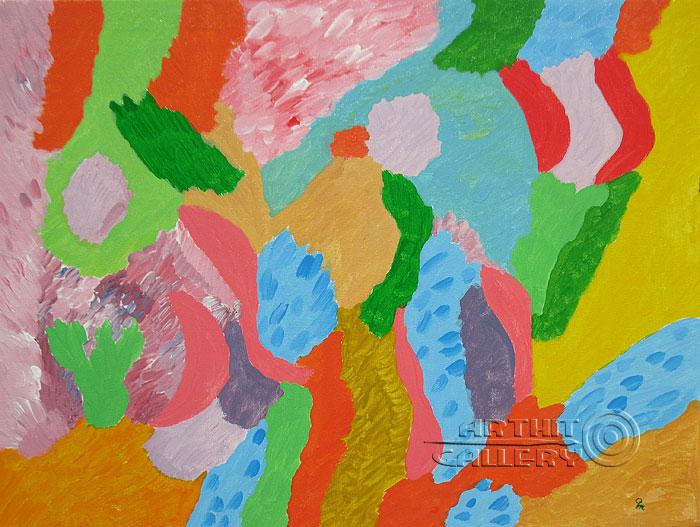 ''Радость''.  Кортюкова Роза. Продажа картин, предметов декоративно-прикладного искусства