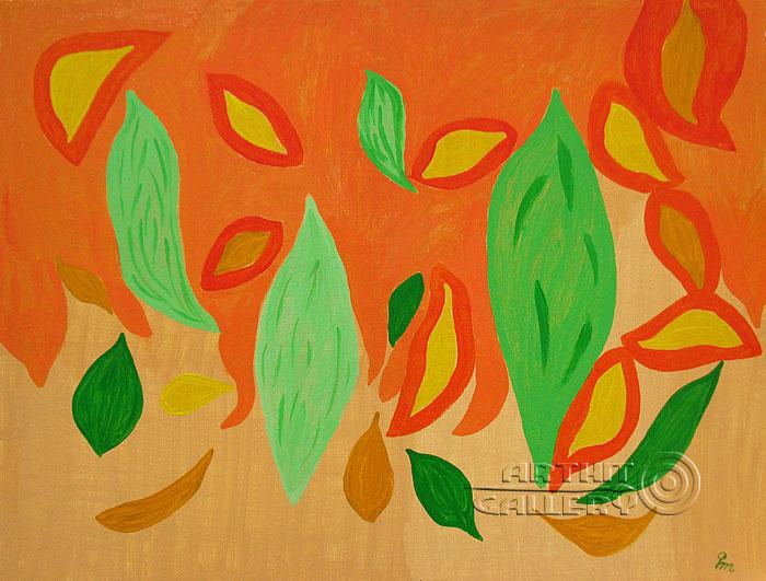 ''В окружении любви''.  Кортюкова Роза. Продажа картин, предметов декоративно-прикладного искусства
