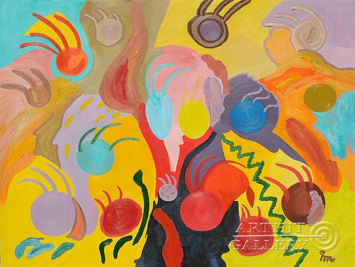 ''Освобождение''.  Кортюкова Роза. Продажа картин, предметов декоративно-прикладного искусства