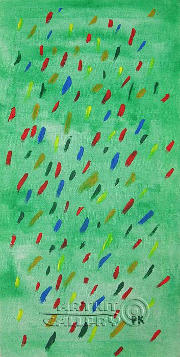 ''Дождь''.  Кортюкова Роза. Продажа картин, предметов декоративно-прикладного искусства
