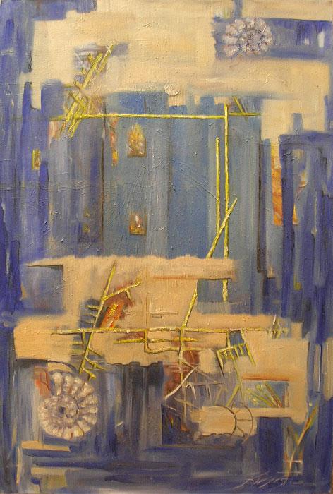 ''Урбанизация''.  Кислая Татьяна. Продажа картин, предметов декоративно-прикладного искусства