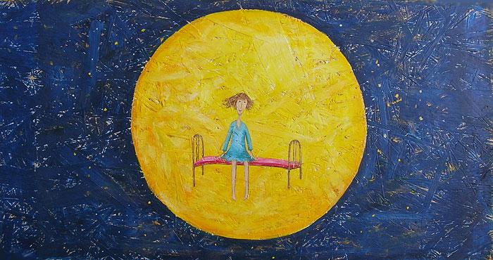 ''Ночью''.  Кислая Татьяна. Продажа картин, предметов декоративно-прикладного искусства