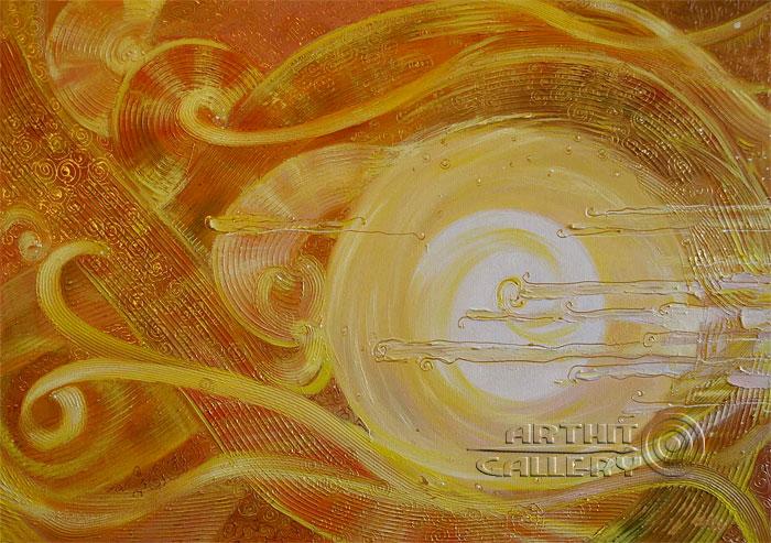 'Sunny wind'. Markova Dasha