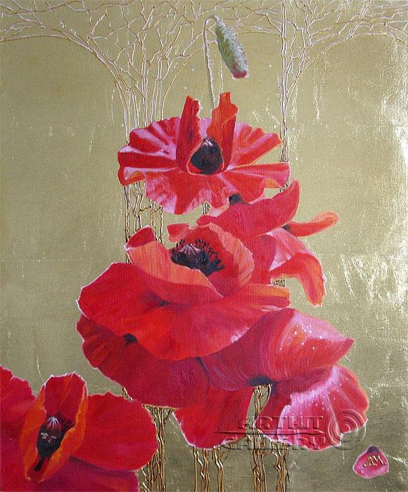 'Poppy Symphony'. Markova Dasha
