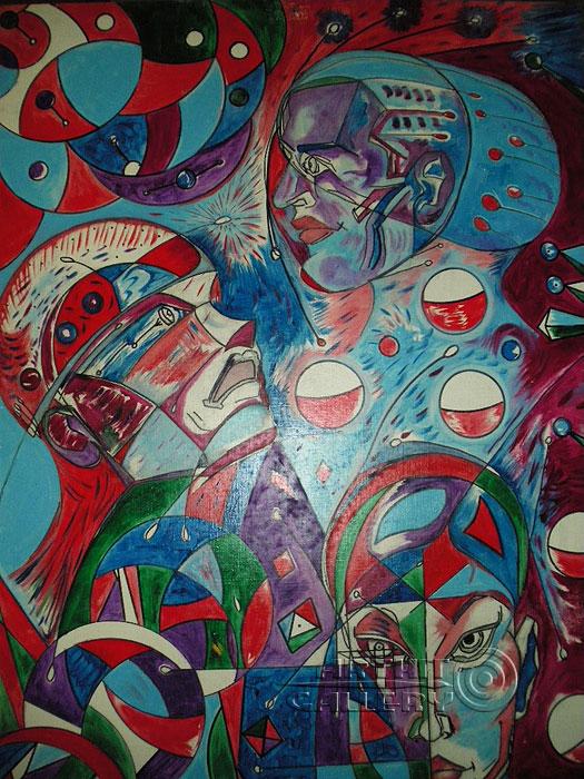 ''Альфа и омега''.  Шабанов Иван. Продажа картин, предметов декоративно-прикладного искусства