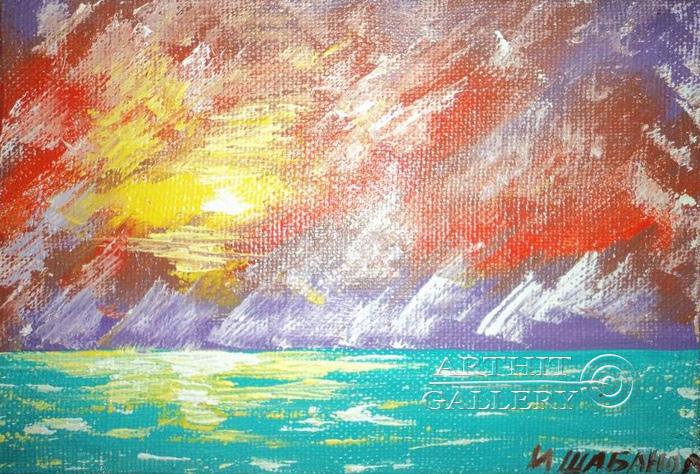 ''Свечение''.  Шабанов Иван. Продажа картин, предметов декоративно-прикладного искусства