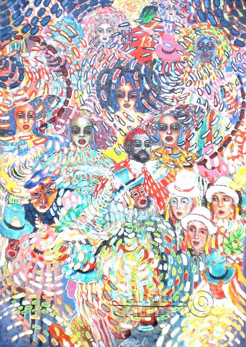 'Carnival-2'. Nikitina Nadezhda