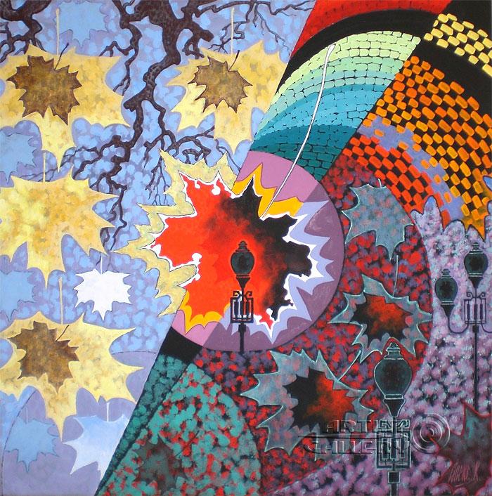 'Shapes of the Moscow autumn'. Nikitina Nadezhda