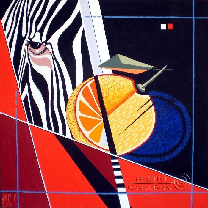''Заводной апельсин''.  Никитина Надежда. Продажа картин, предметов декоративно-прикладного искусства