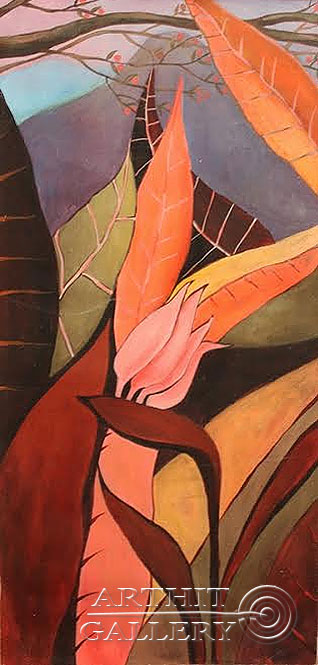 ''Цветок''.  Лузан Ольга. Продажа картин, предметов декоративно-прикладного искусства