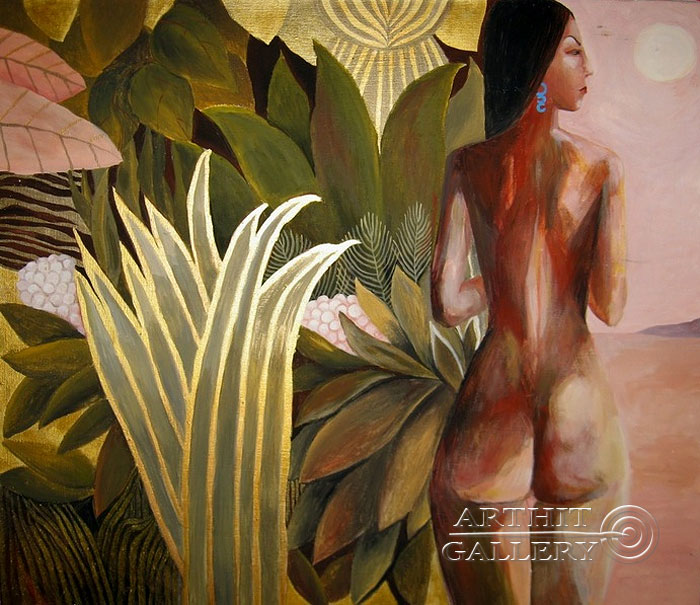 'Based on Henri Rousseau'. Luzan Olga