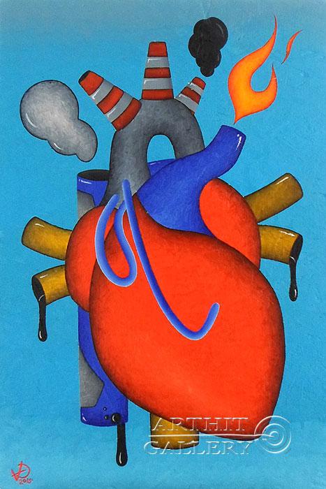 ''Industrial Love''.  Исаев Роман. Продажа картин, предметов декоративно-прикладного искусства