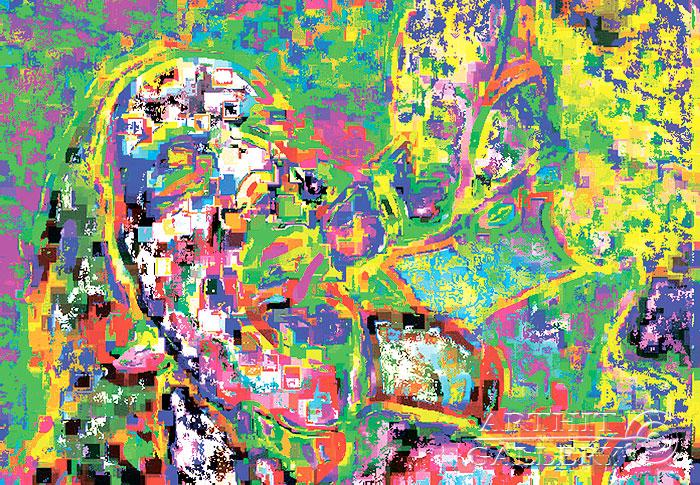 ''Настолько привычное''.  Эрман Александр. Продажа картин, предметов декоративно-прикладного искусства