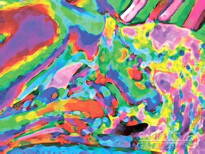 ''Последняя строка''.  Эрман Александр. Продажа картин, предметов декоративно-прикладного искусства