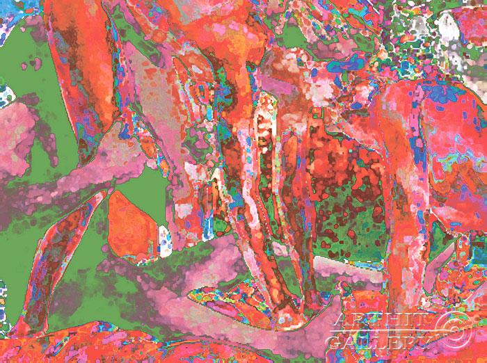''Песни Ноггано''.  Эрман Александр. Продажа картин, предметов декоративно-прикладного искусства