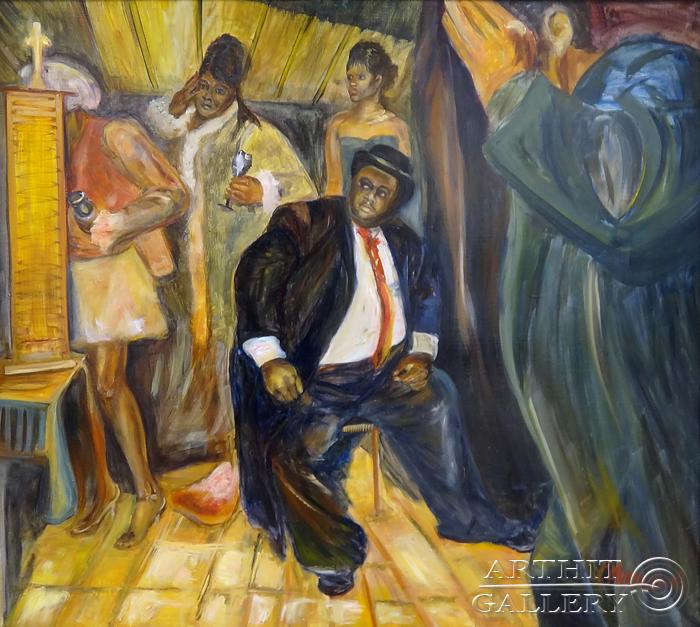 ''Диптих `Застигнутые врасплох`''.  Малахова Светлана. Продажа картин, предметов декоративно-прикладного искусства