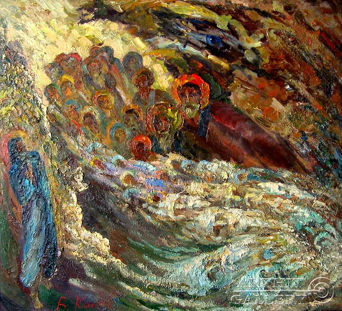 ''Старцы''.  Канов Варус. Продажа картин, предметов декоративно-прикладного искусства
