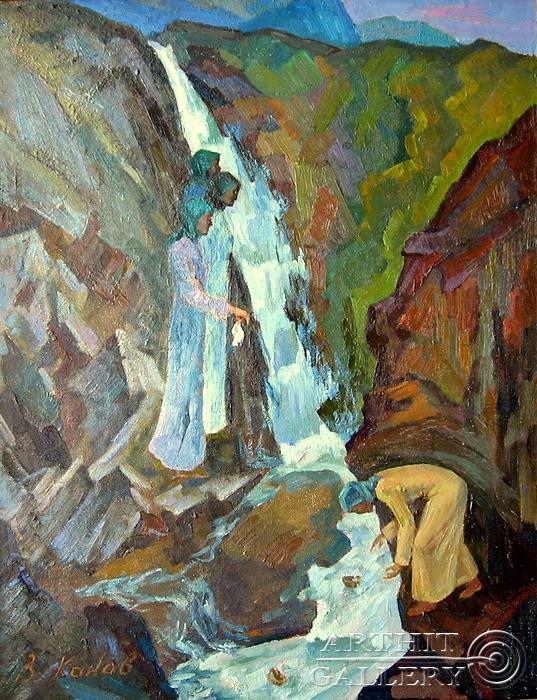 ''Язычницы''.  Канов Варус. Продажа картин, предметов декоративно-прикладного искусства