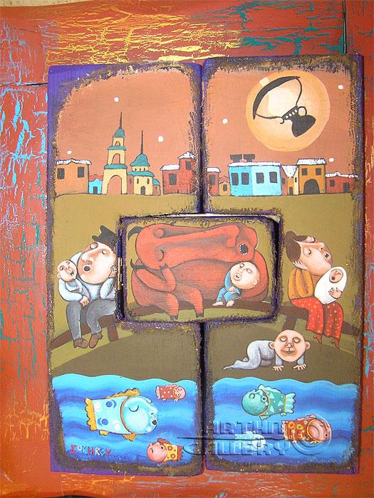 'Rundadar family'  by Bukhrov Dmitry