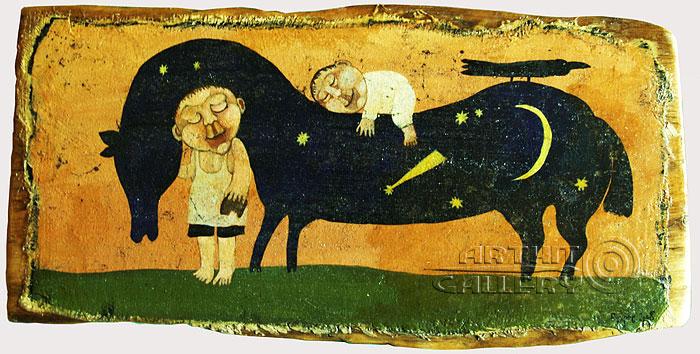 'Horse-Night'  by Bukhrov Dmitry