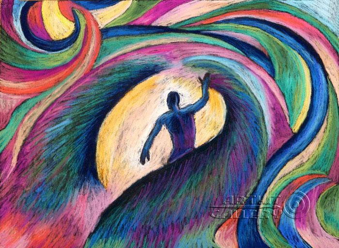 ''Рождение''.  Устинченко Евгений. Продажа картин, предметов декоративно-прикладного искусства
