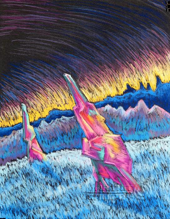 ''Кристаллы''.  Устинченко Евгений. Продажа картин, предметов декоративно-прикладного искусства