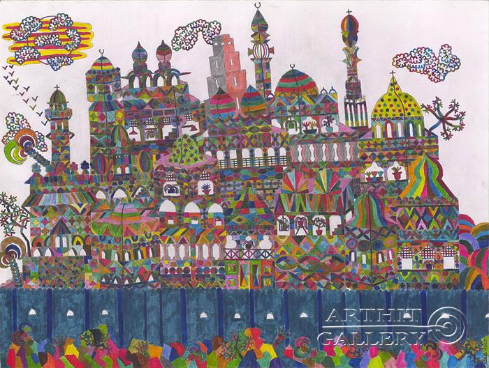 'Magical City'. Fattal Adib