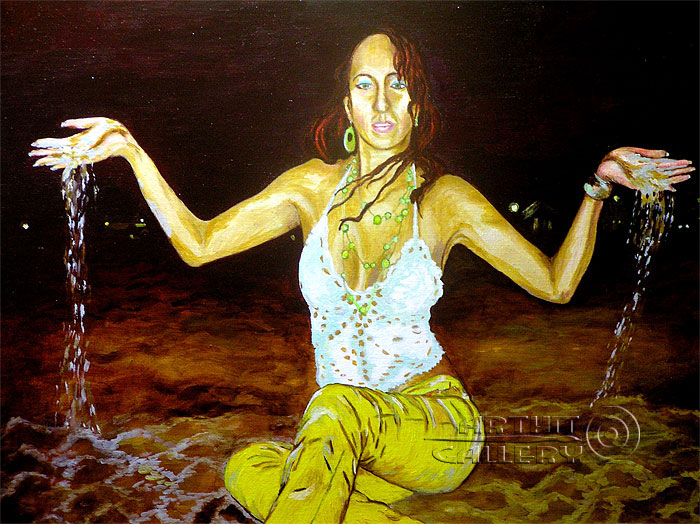 ''Пески времени''.  Мец Екатерина. Продажа картин, предметов декоративно-прикладного искусства