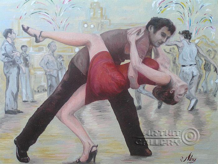 ''Танец''.  Мец Екатерина. Продажа картин, предметов декоративно-прикладного искусства