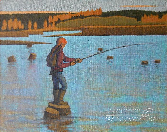 'Fisherwoman'. Maershin Sergey