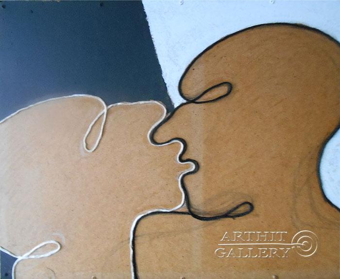 ''Поцелуй''.  Маершин Сергей. Продажа картин, предметов декоративно-прикладного искусства