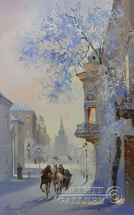 'Frosty day. Kazan'. Galimov Nail