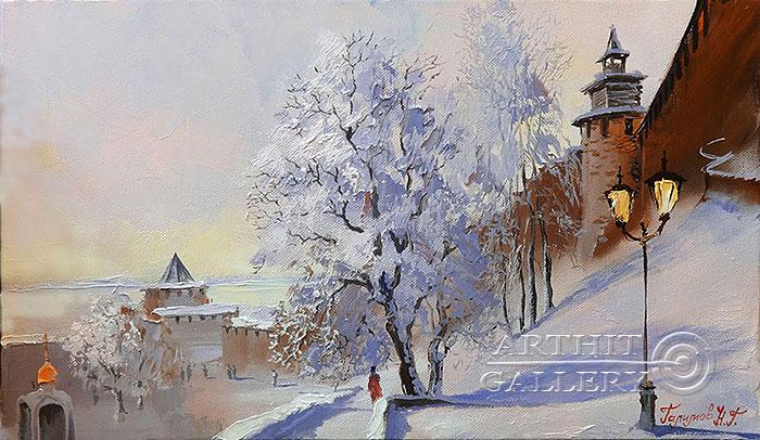 'The Nizhny Novgorod Kremlin walls'. Galimov Nail