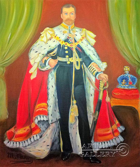''Император Николай 2''.  Мариз Марина. Продажа картин, предметов декоративно-прикладного искусства