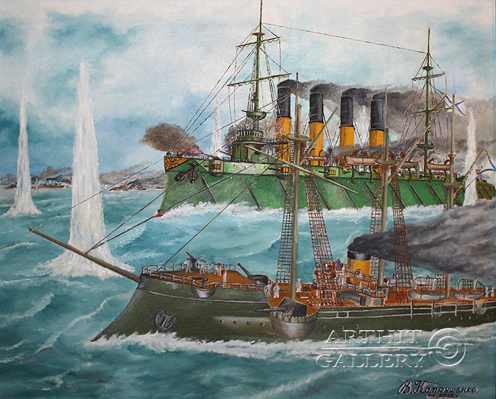 'Battle of Chemulpo Bay'. Katrushenko Vasiliy