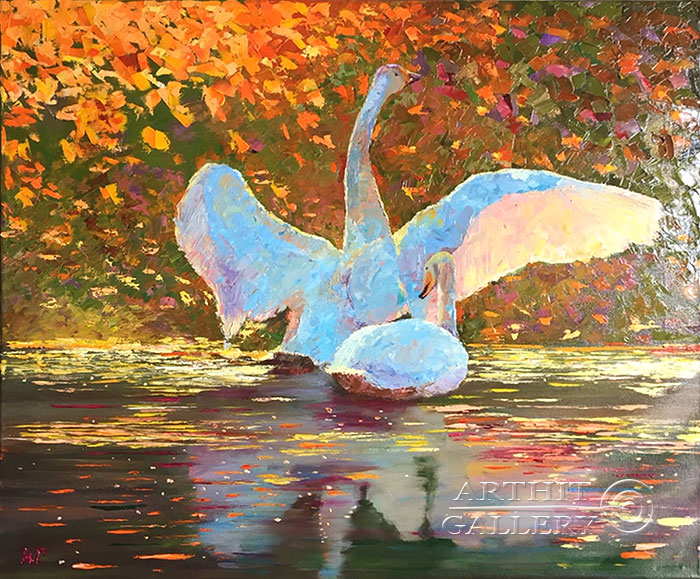 'Swan fidelity'. Grishina Natalya