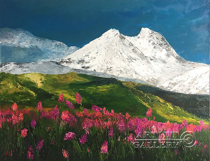 'Flower Elbrus'. Grishina Natalya