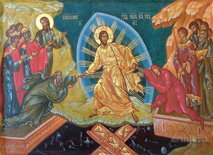 'The Resurrection of Christ'. Kolbneva Irina