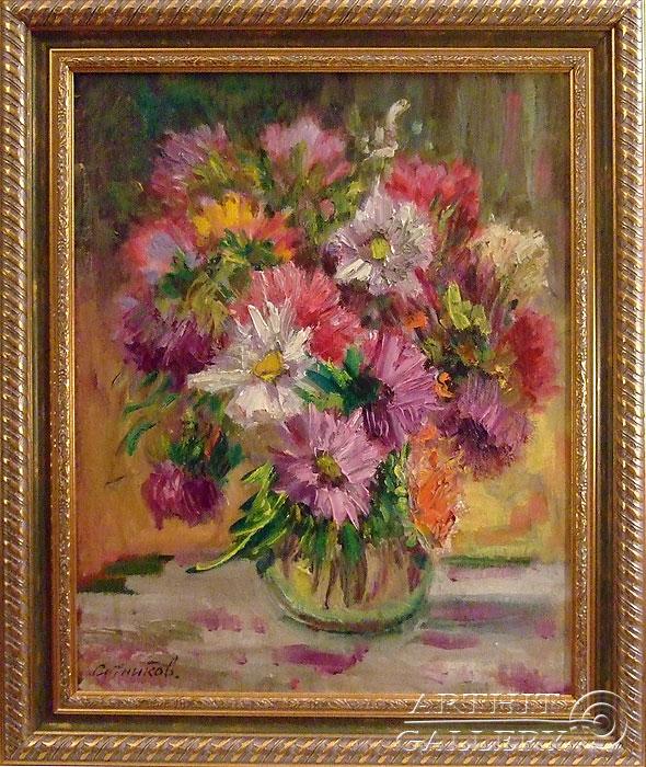 'Asters'. Sotnikov Yuriy Vasilyevich