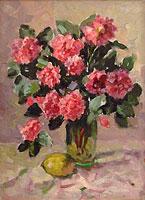 Розы с лимоном