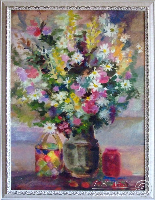 'Bouquet and berry'. Titkova Vrubelina